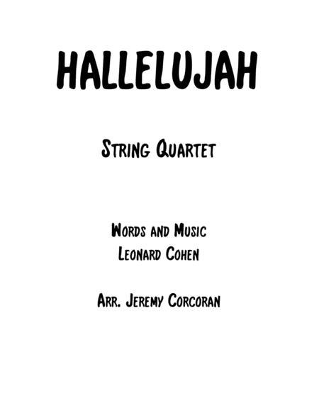 Hallelujah For String Quartet Sheet Music PDF Download