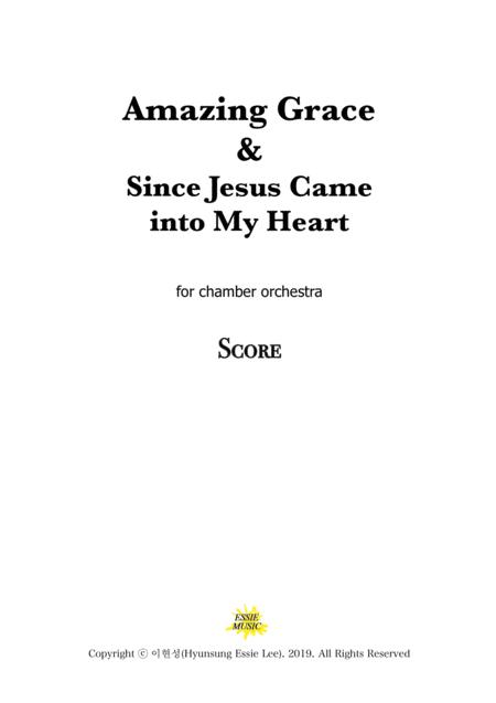 Amazing Grace For Chamber Orchestra Sheet Music PDF