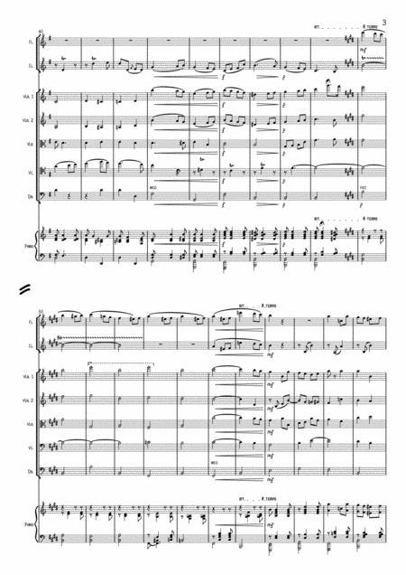 Edward Elgar Salut D Amour Arrangement For Chamber Group