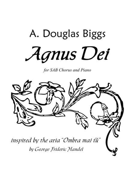 Agnus Dei For SAB Chorus And Piano Sheet Music PDF