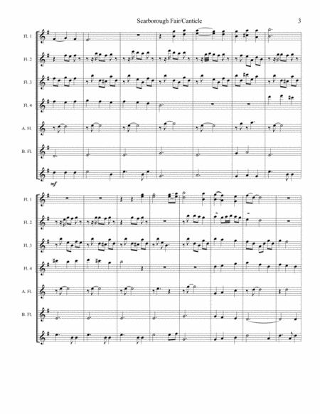 Scarborough Fair Canticle Sheet Music PDF Download - coolsheetmusic.com