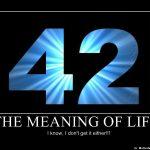 如何用最有创造力的方式输出42