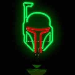 Awesome Kitchen Gadgets Microwave Cart With Storage Star Wars - Boba Fett Neon Sign | Cool Stuff Dude