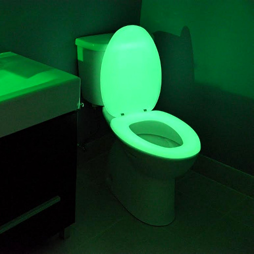 how to repair kitchen faucet small tables glow in the dark toilet seat | cool stuff dude