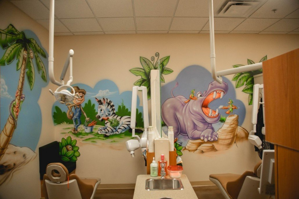 kids character chairs pink childs rocking chair pediatric dental office themes & design - cool stuff