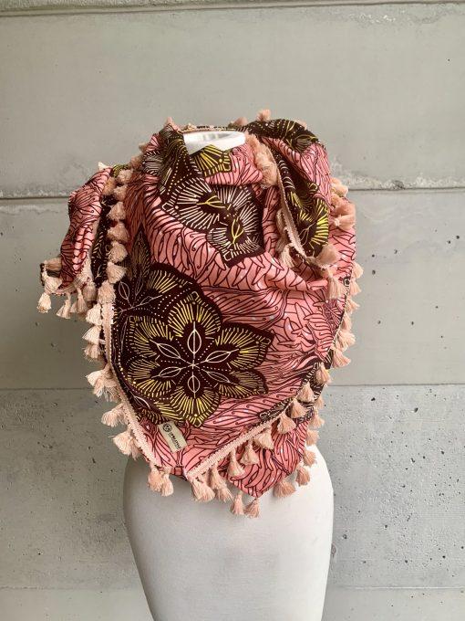 Foulard fleurs de sel