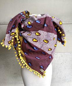 Foulard fruit tropical