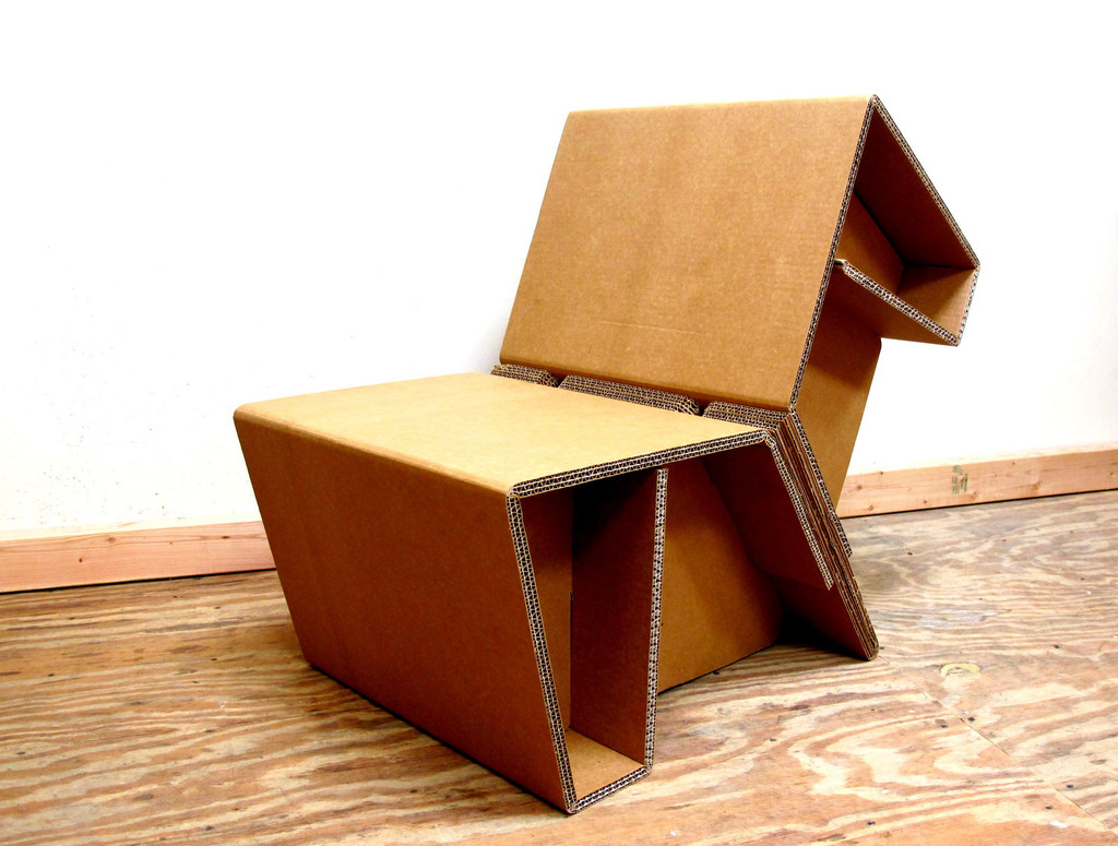 Cardboard Chair Chairigami Cardboard Chairs Look Equally Amazing And