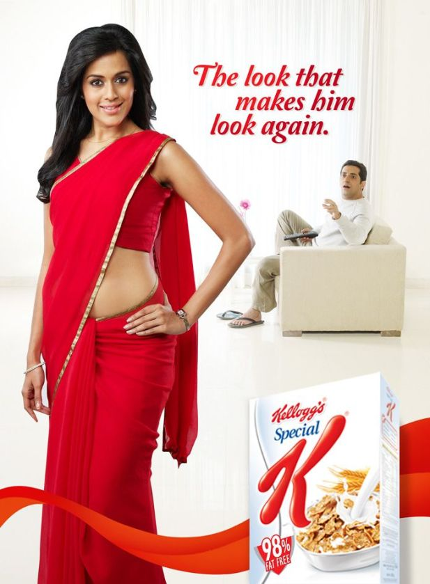Special K cereal ad 90% fat free