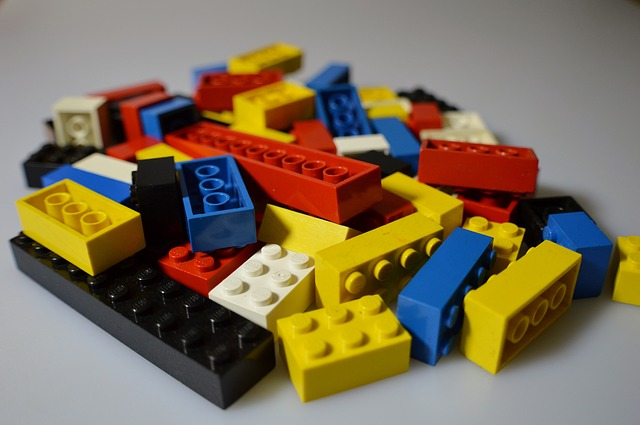 a bunch of lego