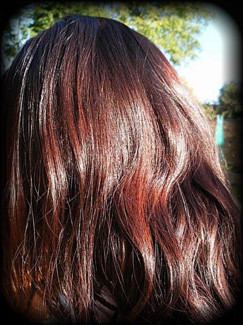 henna hair dye natural shiny