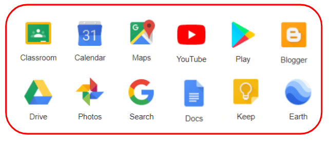 Google options