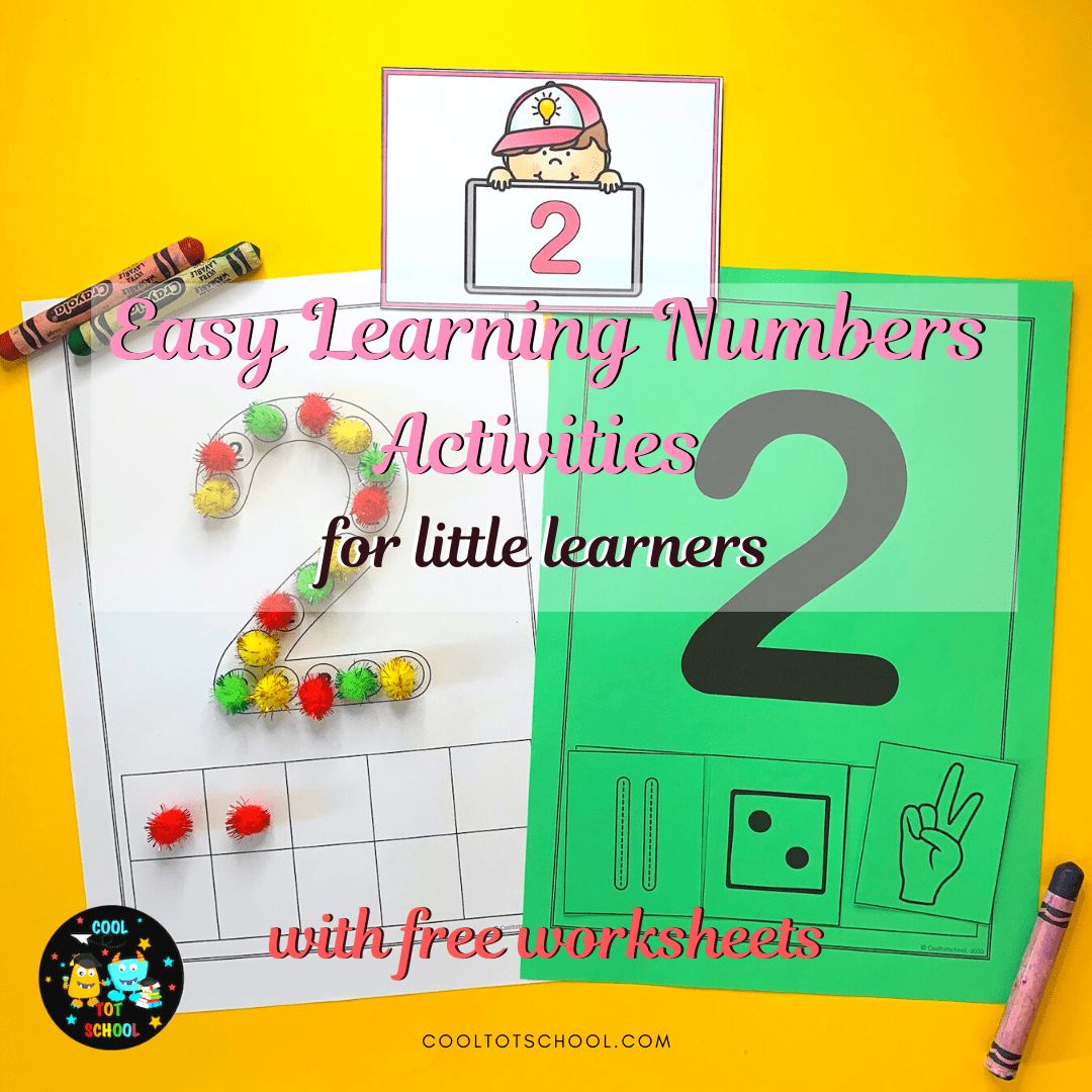 Easy Learning Numbers Activities For Little Learners With