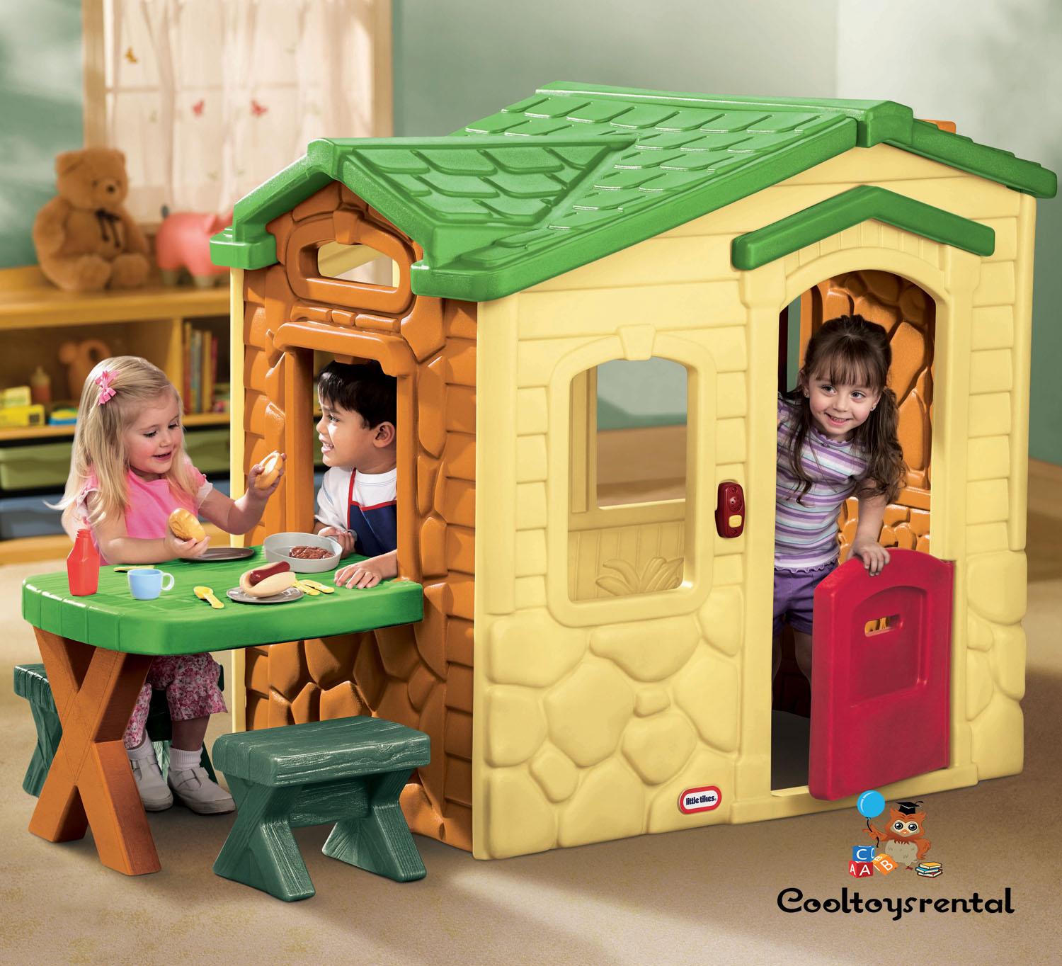 Little Tikes Picnic On The Patio Playhouse (Evergreen