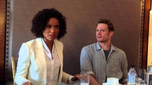 Gugu Mbatha-Raw and Sam Reid