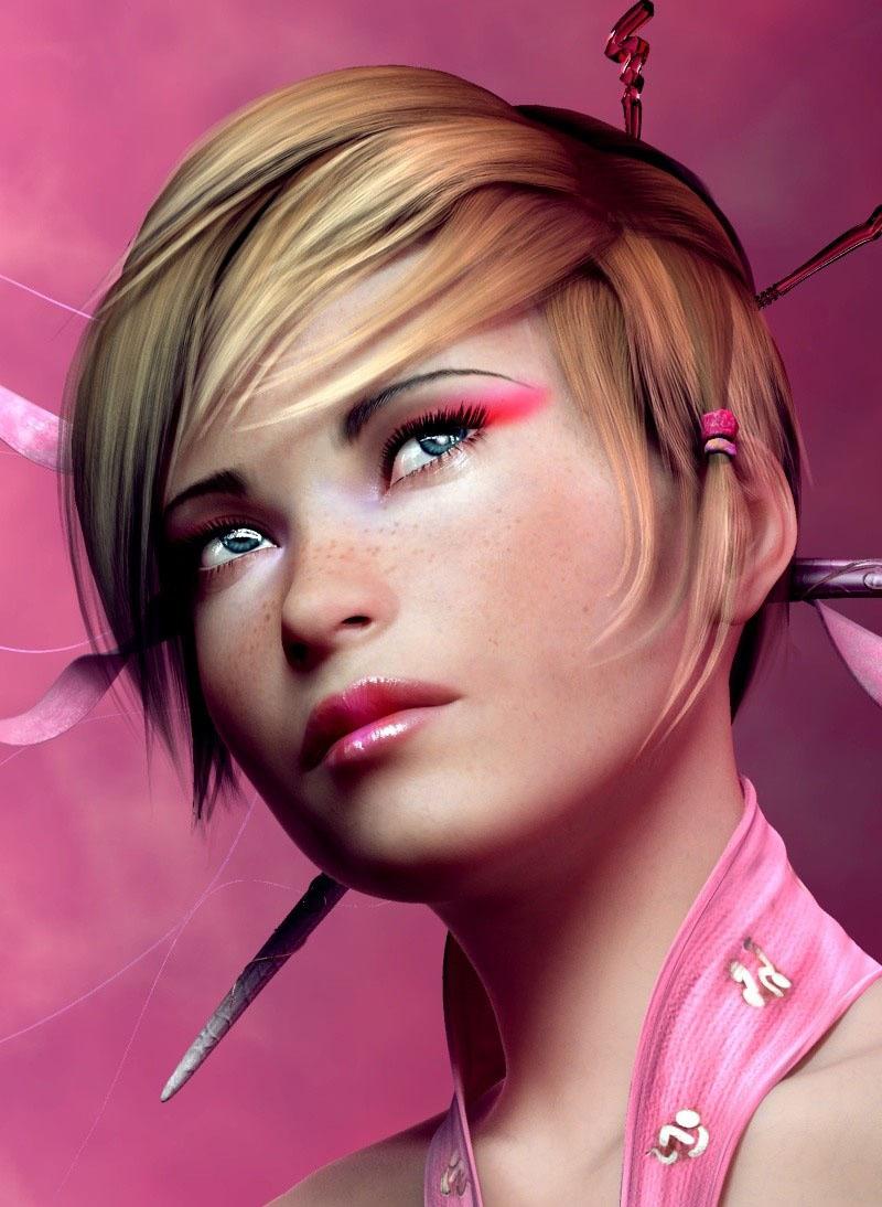 Cute Emo Anime Wallpaper Pink Sugar Girl Coolvibe Digital Artcoolvibe Digital Art