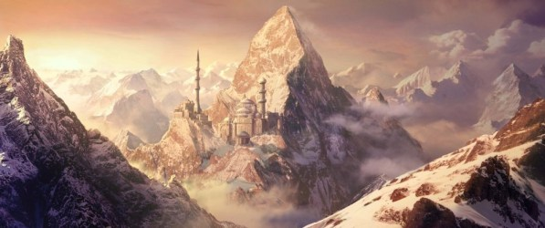 fantasy snow painting matte digital paintings castle marta realistic martanael scenery mountain deviantart stunning andres mountains amazing landscapes andres creative