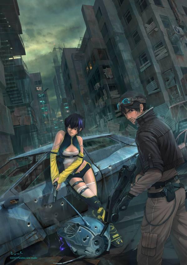Hpnophobia - Anime Sci-ficoolvibe Digital Art