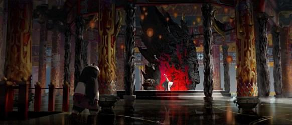 throne room peacock kung fu panda anime fantasy concept cartoon movie digital please