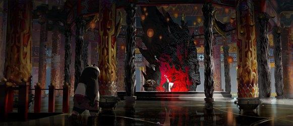 Fantasy Throne Room Art