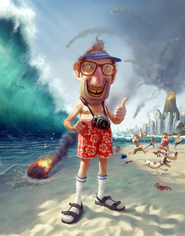 Tourist Tiago Hoisel - Digital Paintings