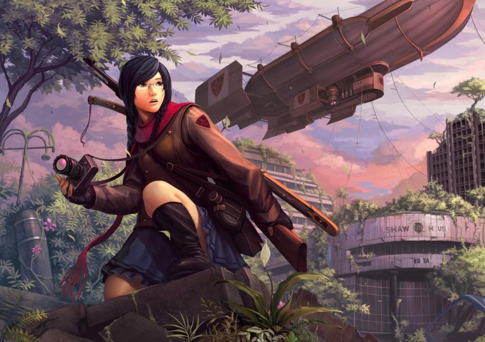 Gunslinger Girl 2 Desktop Wallpaper Explorer Coolvibe Digital Artcoolvibe Digital Art