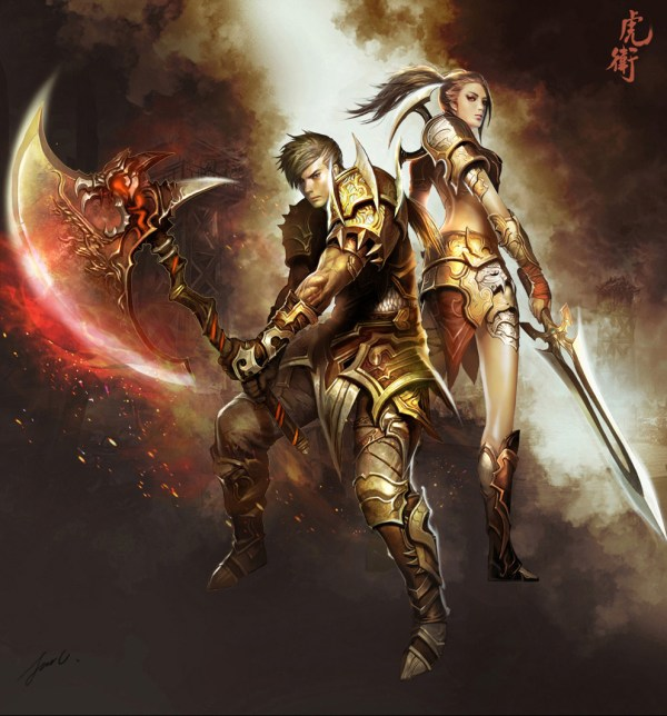 Concept Art Dragon Warrior - 2d Digital Fantasycoolvibe