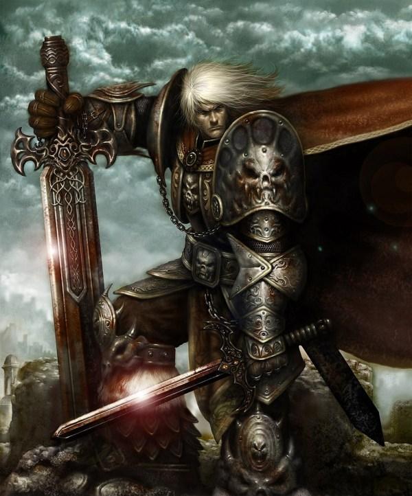Fantasy Art Warrior - 2d Digital Concept