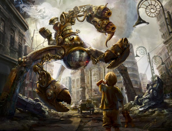 Steampunk Concept Art