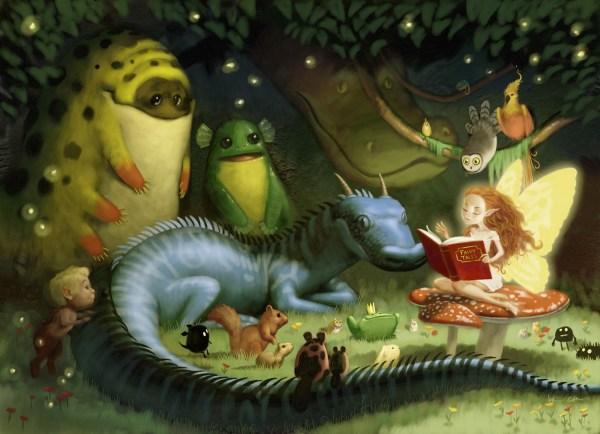 Fairy Tale Creature Art
