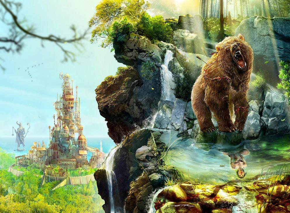 Epic Animal Wallpapers Ertac Altinoz Coolvibe Digital Artcoolvibe Digital Art