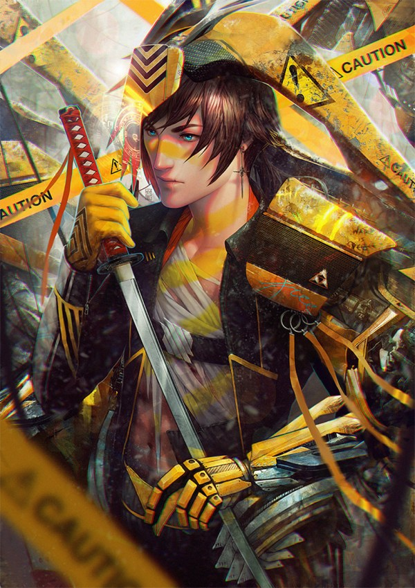 Manga Anime Digital Art