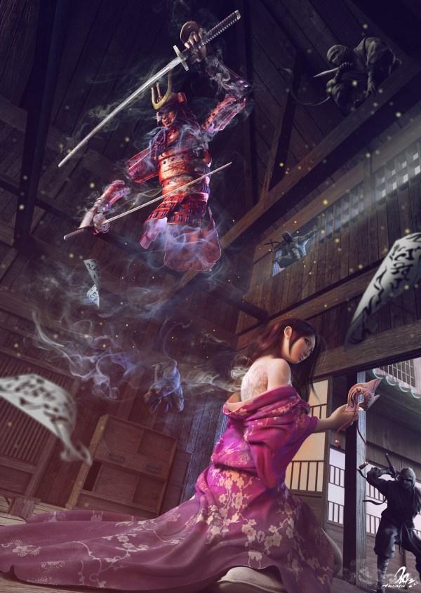 3d Art Assassinate - Fantasycoolvibe Digital