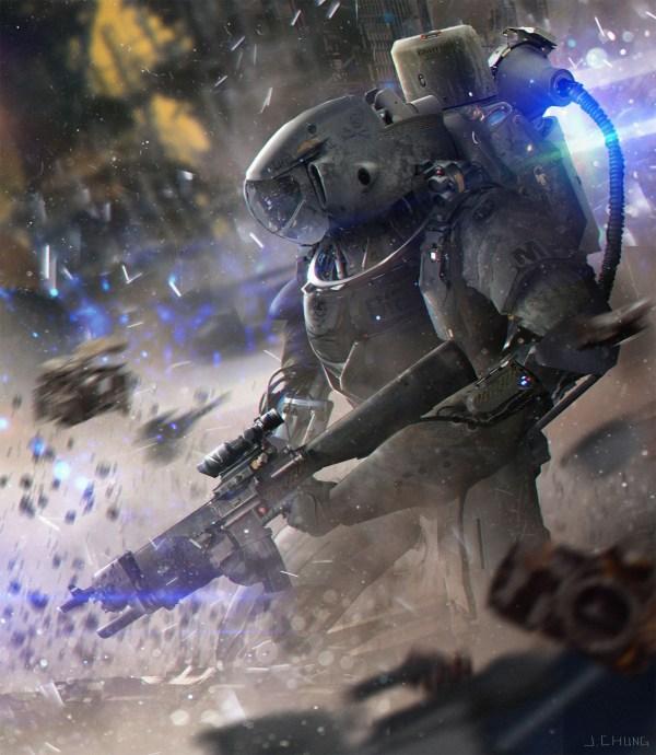 Sci-Fi Digital Art