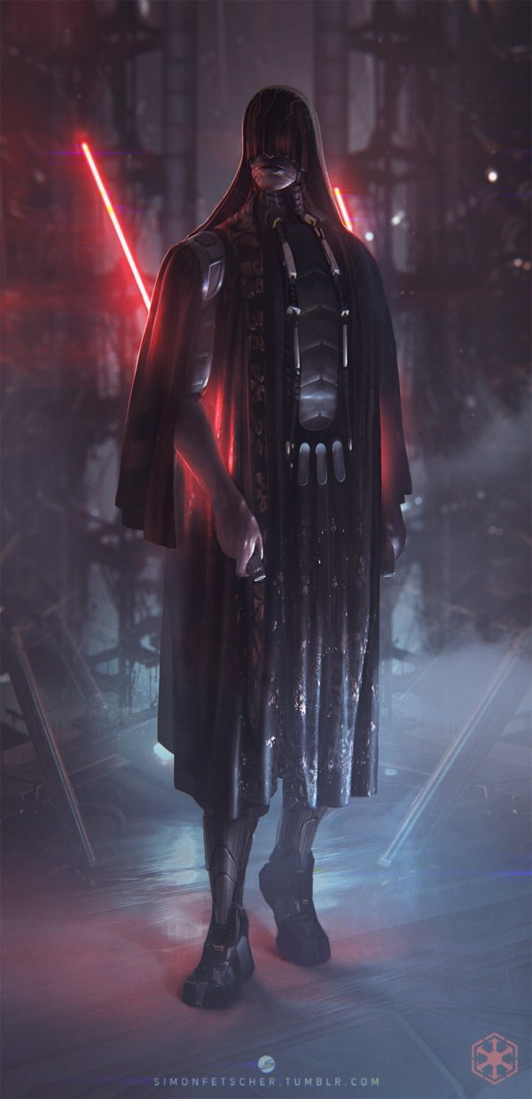 Star Wars Sith Lords Art