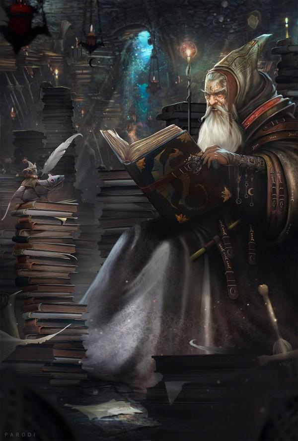 Fantasy Art Cuentos De Hechizero - 2d Digital Fantasycoolvibe