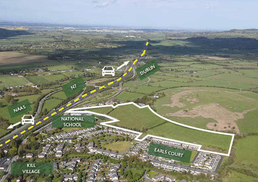 Sold – Prime Development Site, FPP 164 units at Earls Court Kill, Co. Kildare