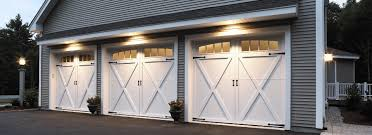 New garage doors also come with different styles and colors