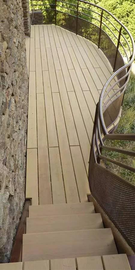 COOP aux BOIS : menuiserie reprise Froment • Surfaces terrasse bois sur-mesure