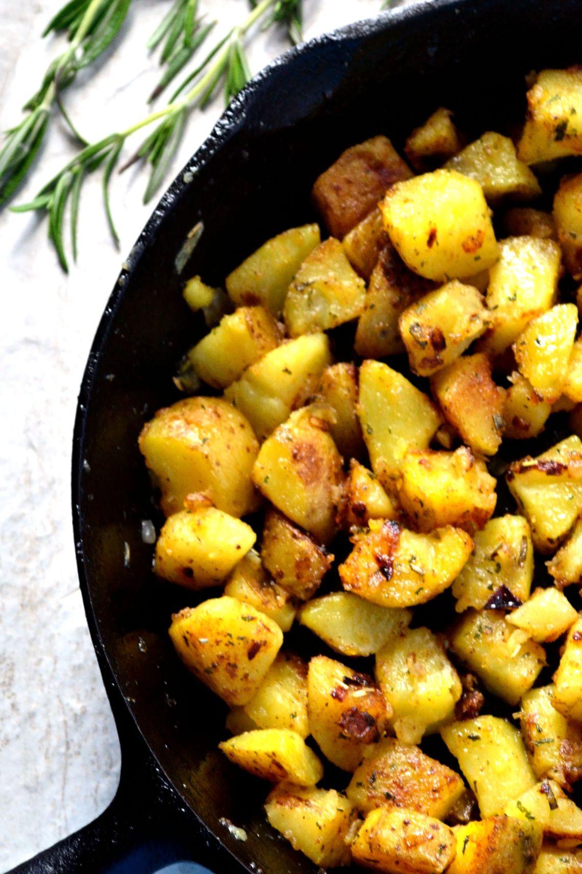 Rosemary Breakfast Potatoes