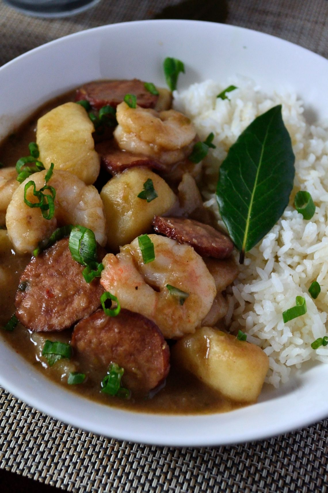 Shrimp, Sausage, & Potato Stew