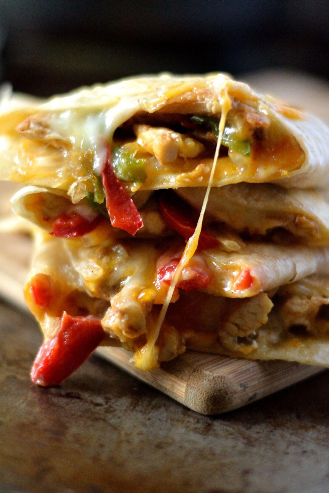 Chicken Fajita Quesadilla Recipe