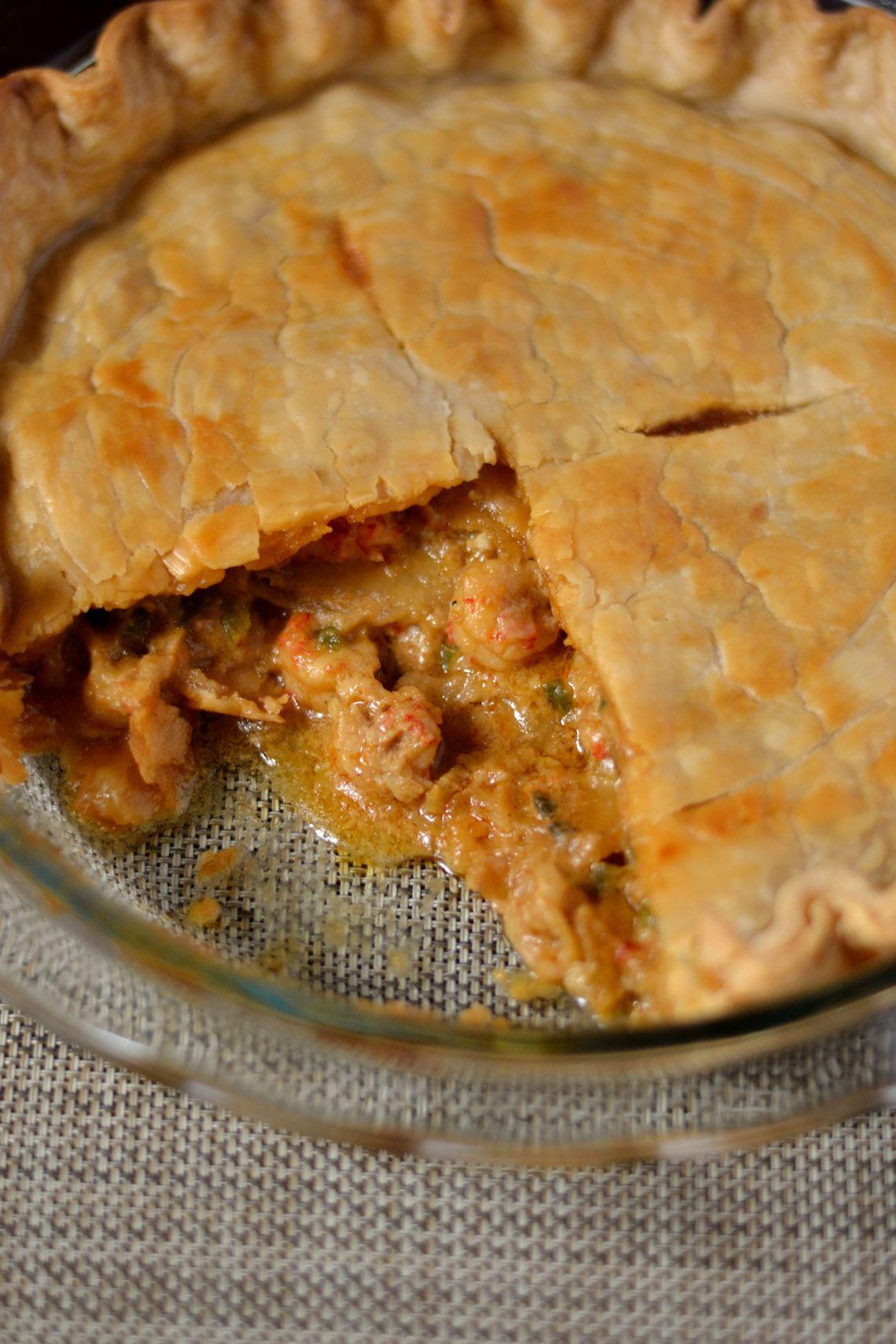 Louisiana Crawfish Pie Recipe