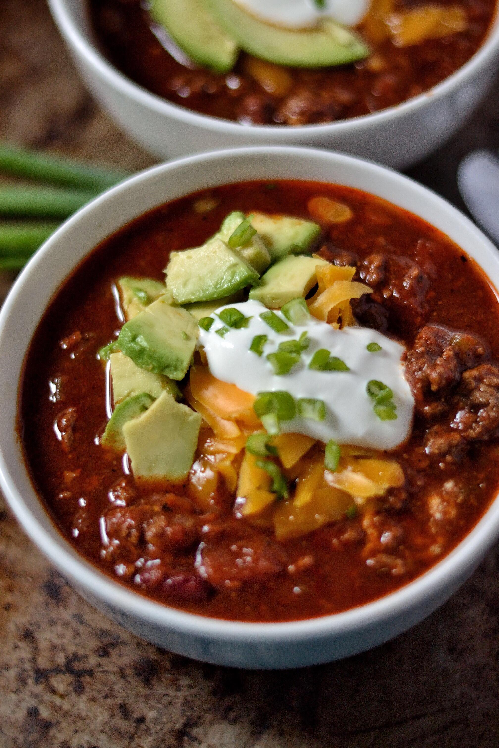 Homemade Chili Recipe Coop Can Cook
