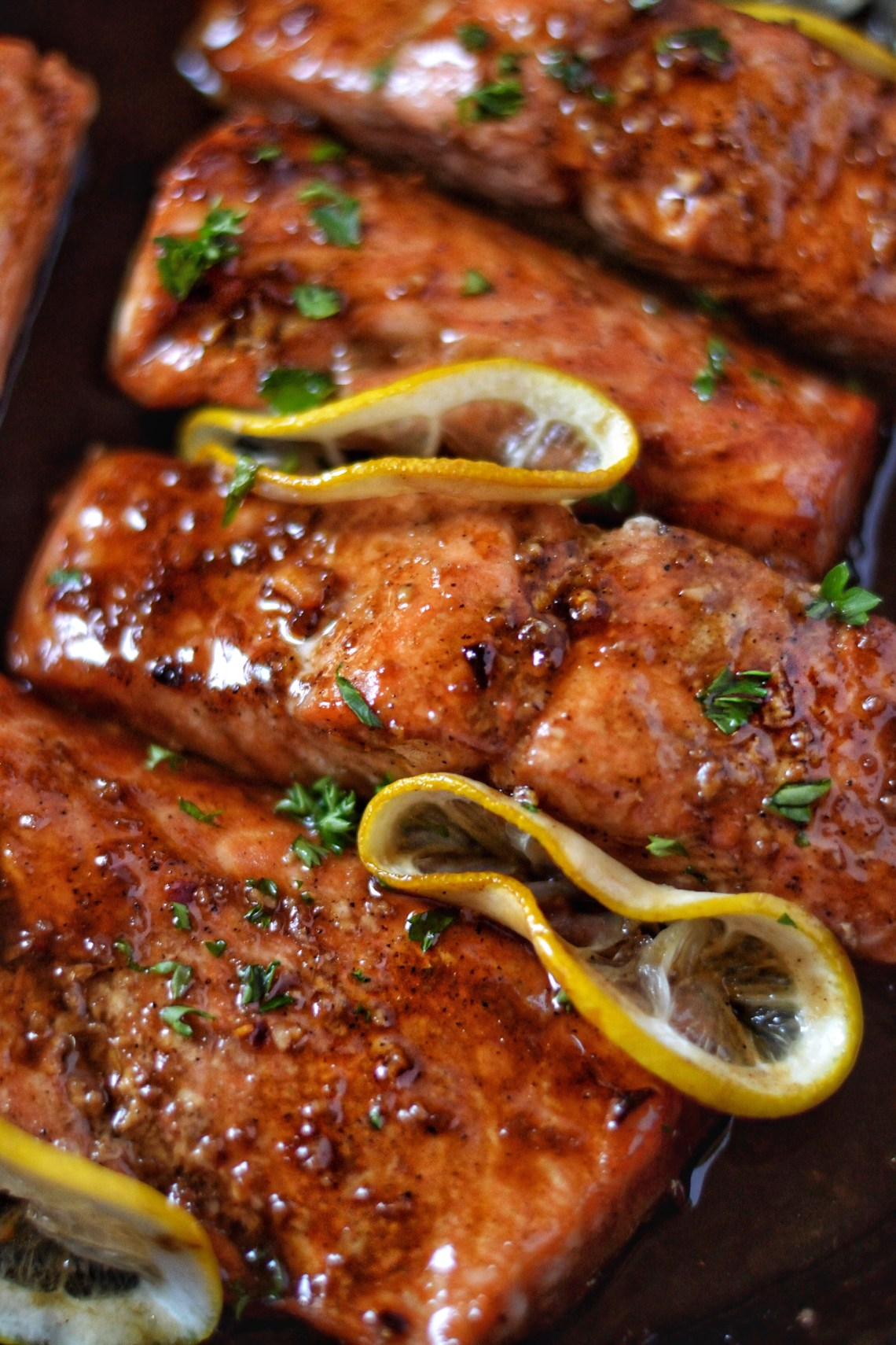 Browned Butter Teriyaki Salmon Recipe