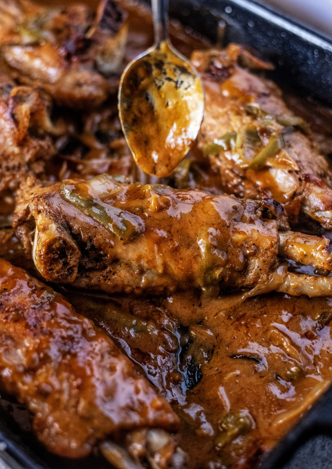 Smothered Turkey Wings Recipe