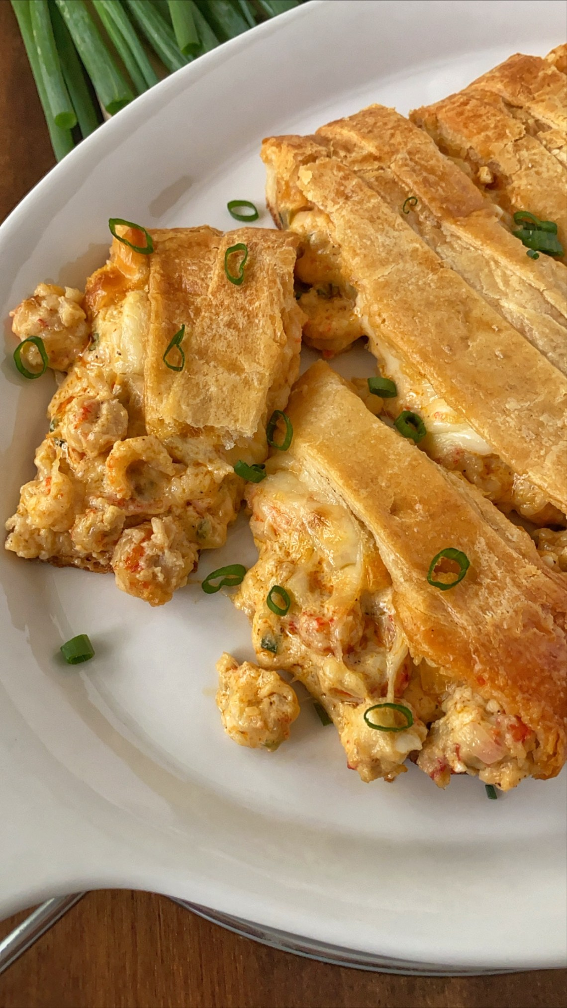 Stuffed Crawfish Bread Recipe