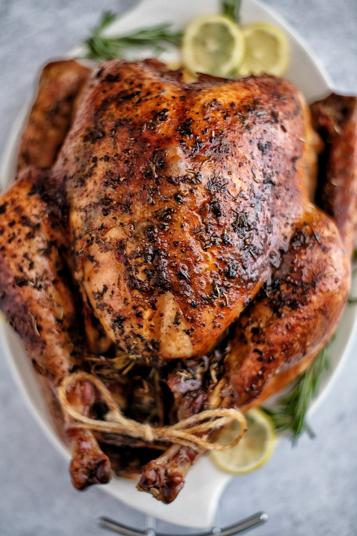 Cajun Butter Roasted Turkey Recipe
