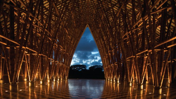 Simn Vlez Bamboo Structures  The Cooper Union