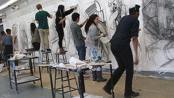 Short of Funds the Saturday Program Goes on with Annual Student Show  The Cooper Union